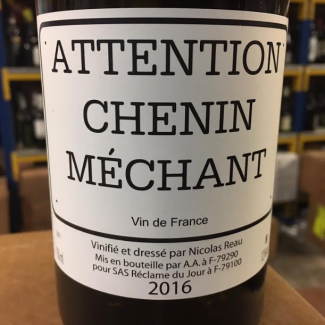 Attention Chenin Méchant 2016