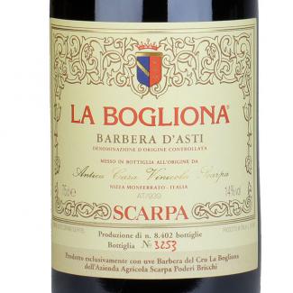Barbera d'Asti La Bogliona 1996