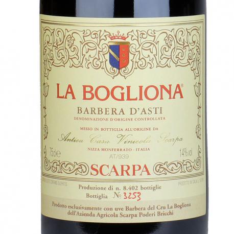 Barbera d'Asti La Bogliona 1996 - Scarpa