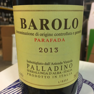 Barolo 2013 Parafada