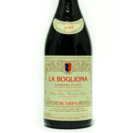 Barbera d'Asti La Bogliona 1997 - Scarpa