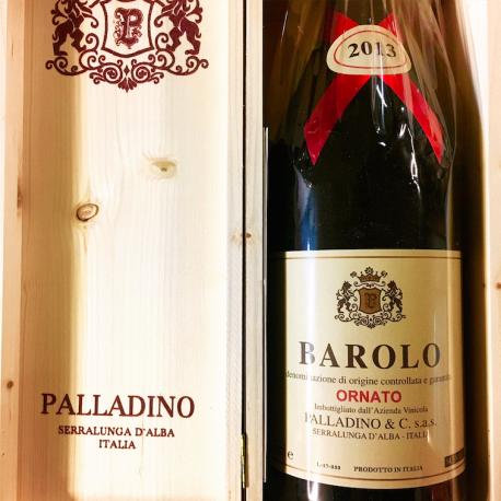 3 litri in cassa di legno di Ornato 2013 Palladino, un Barolo mastodontico.  - Palladino