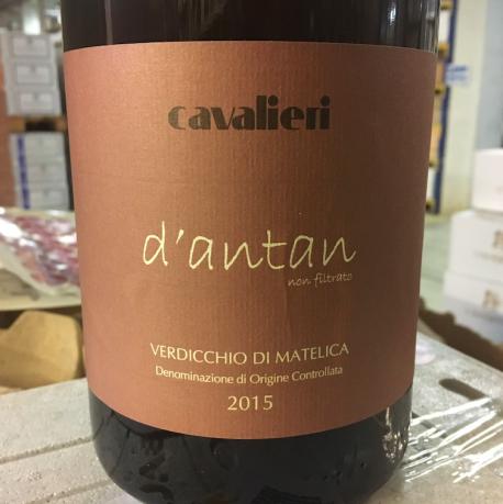 """Verdicchio di Matelica 2015 """"d'antan"""" [MAGNUM] - Cavalieri"""