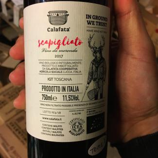 """Scapigliato 2016 """"vino da merenda"""" - Calafata"""