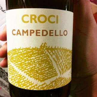 """Croci - CAMPEDELLO frizzante """"sur lie"""" 20 17"""