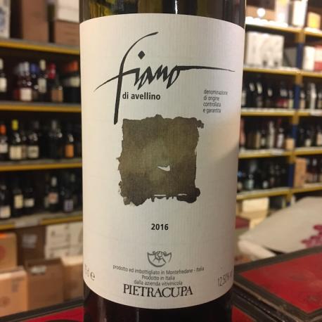 Fiano di Avellino 2016 - PIETRACUPA