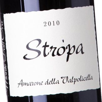 """Amarone della Valpolicella 2010 """"Stropa"""""""