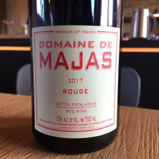 Cotes Catalanes Rouge 2017 - Domaine de Majas