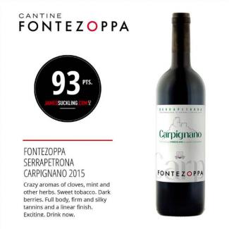 Serrapetrona doc Carpignano 2015 - Fontezoppa